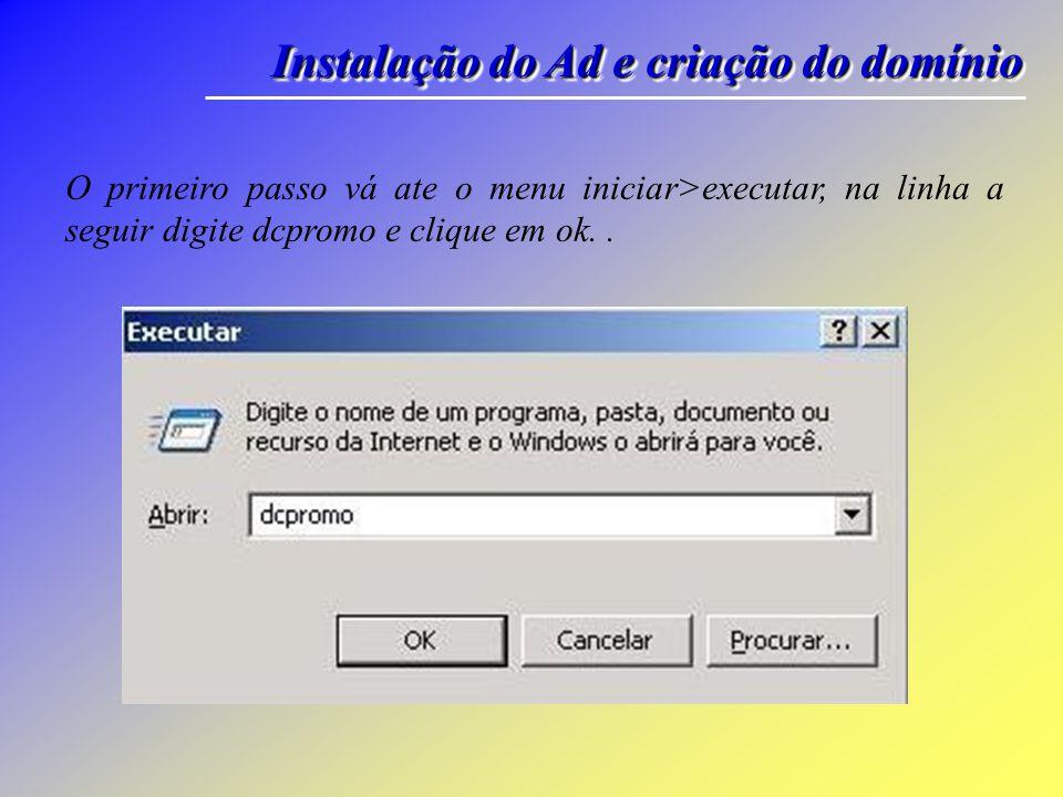Instalação : WindowsServer-2003 WindowsServer-2003