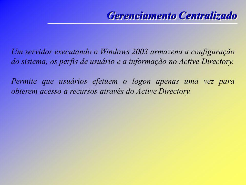 IntroduçãoIntrodução O Active Directory surgiu com Windows 2000 Server.