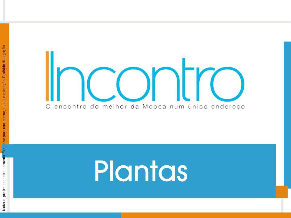 Material preliminar de treinamento. Exclusivo para uso interno, sujeito a alteração. Proibida divulgação Plantas
