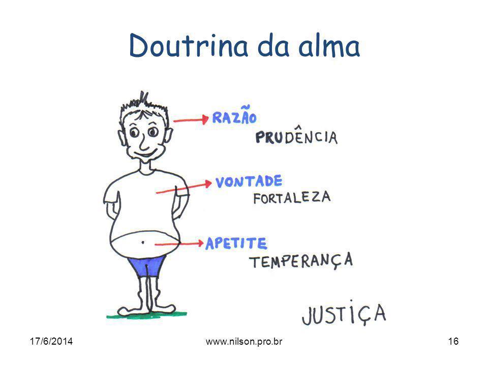 Doutrina da alma 17/6/201416www.nilson.pro.br