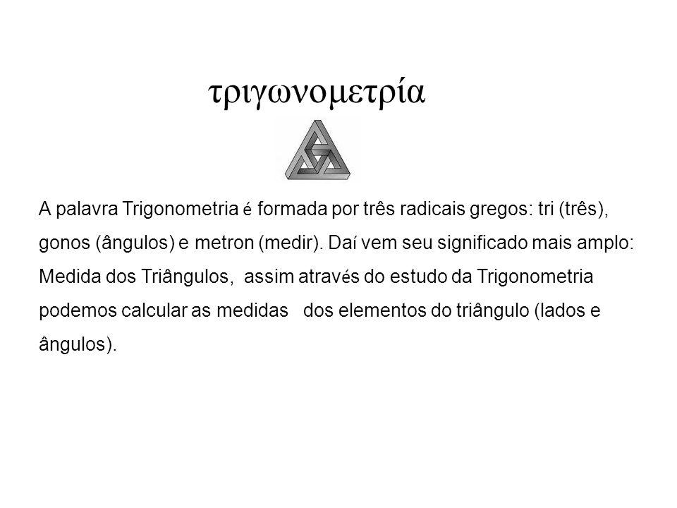 Assim, decorre da definição, que a medida em radianos de uma arco AB é dada por: