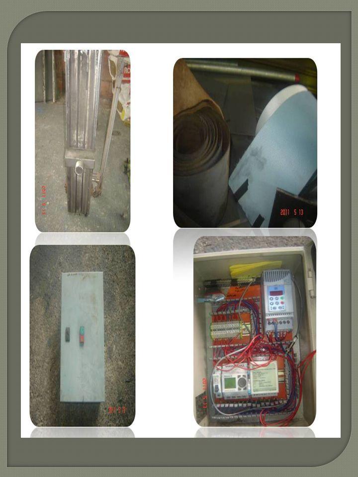 Montagem elétrica: FONTE 220Vca 24Vdc Relé MOTOR INVERSOR