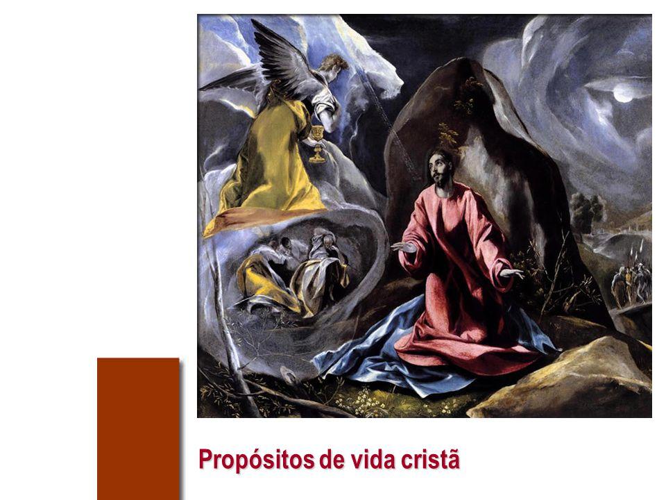 Um propósito para avançar Repassa, para os saberes muito bem, o Pai Nosso e a Ave Maria.