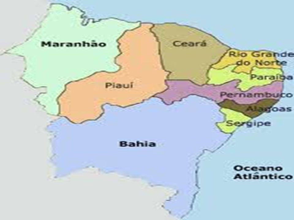 RIO GRANDE DO NORTE PARAÍBA PERNBAMBUCO SERGIPE BAHIA