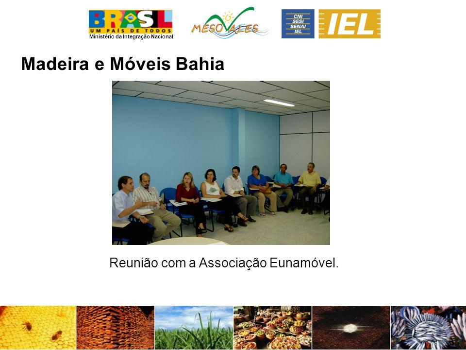 Ministério da Integração Nacional Madeira e MóveisBahia Reunião com a Associação Eunamóvel.