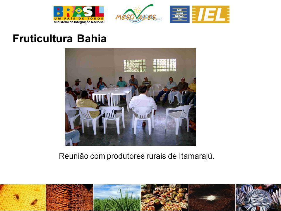 Ministério da Integração Nacional FruticulturaBahia Reunião com produtores rurais de Itamarajú.