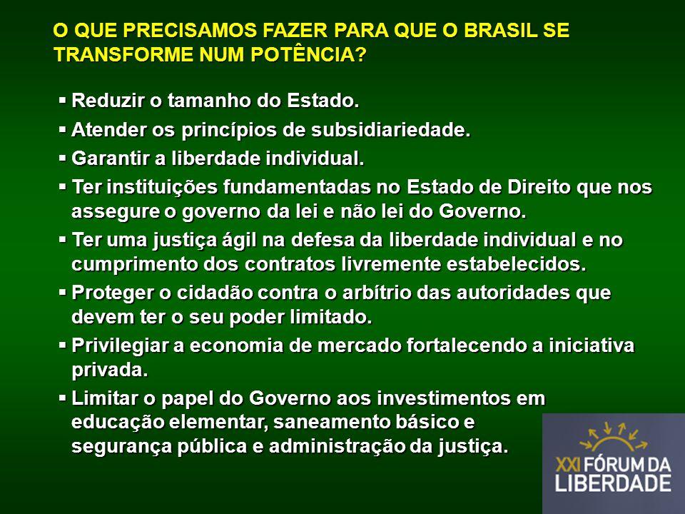 O QUE PRECISAMOS FAZER PARA QUE O BRASIL SE TRANSFORME NUM POTÊNCIA.