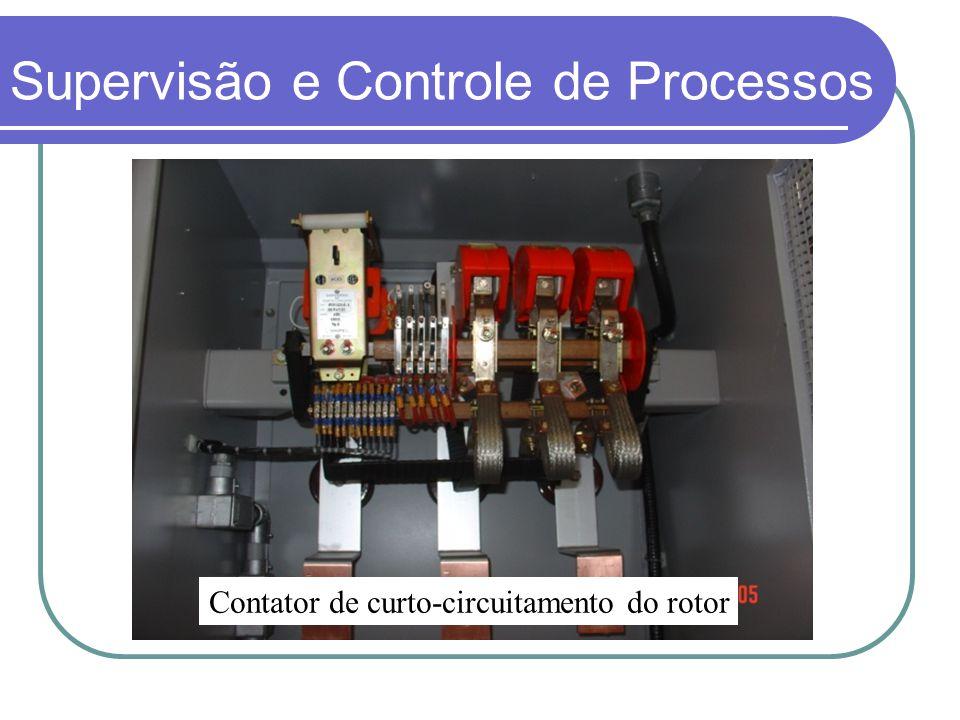 Contator de curto-circuitamento do rotor Supervisão e Controle de Processos