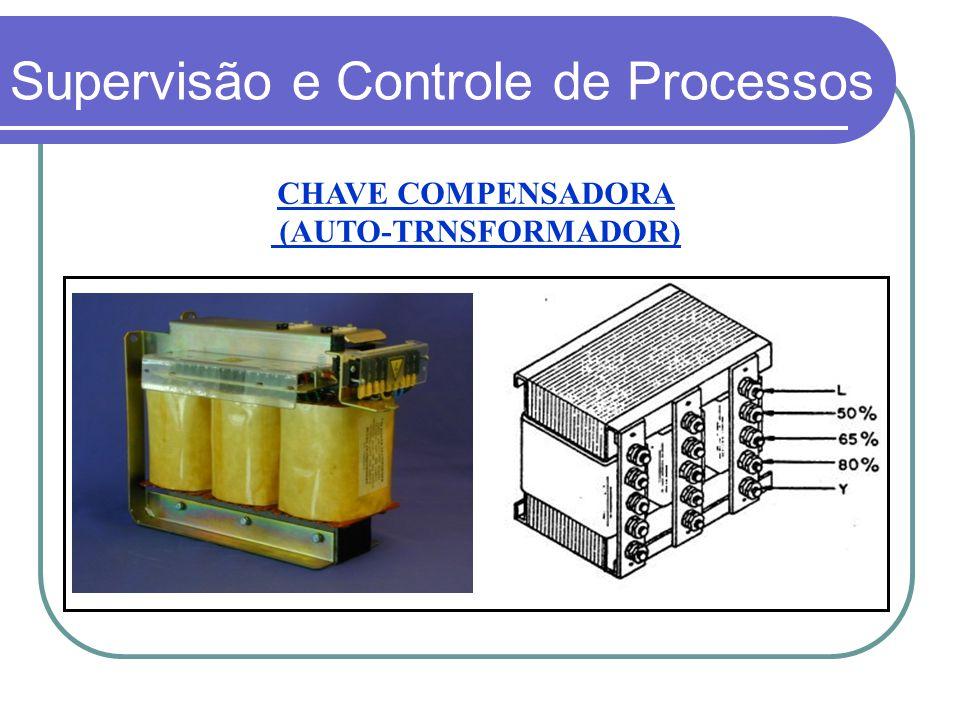 CHAVE COMPENSADORA (AUTO-TRNSFORMADOR) Supervisão e Controle de Processos