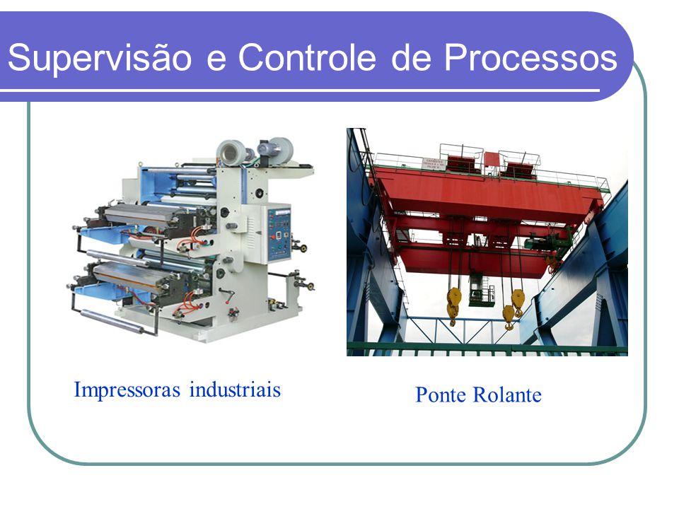 Ponte Rolante Impressoras industriais Supervisão e Controle de Processos
