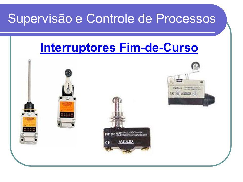 Supervisão e Controle de Processos Interruptores Fim-de-Curso
