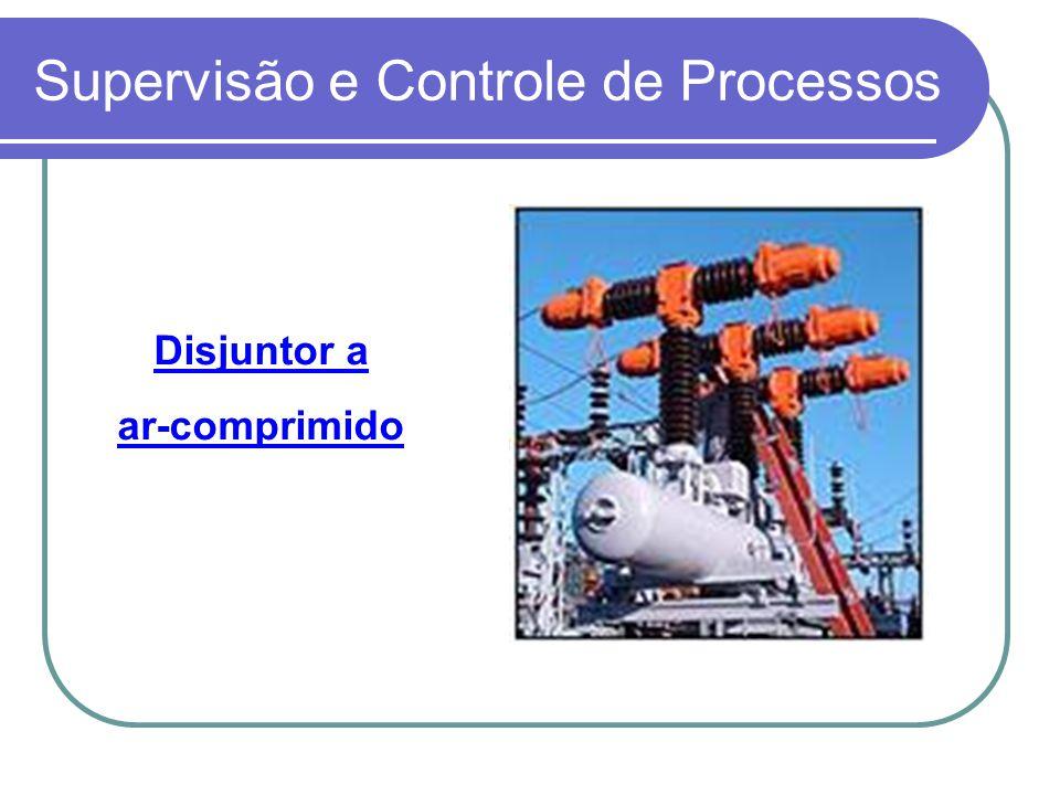 Supervisão e Controle de Processos Disjuntor a ar-comprimido
