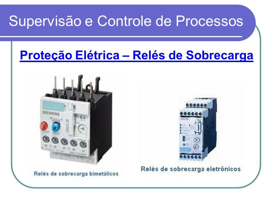 Supervisão e Controle de Processos Proteção Elétrica – Relés de Sobrecarga