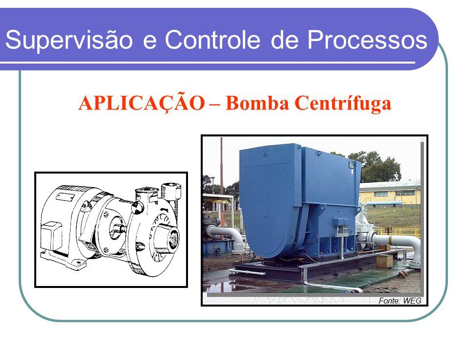 APLICAÇÃO – Bomba Centrífuga Supervisão e Controle de Processos
