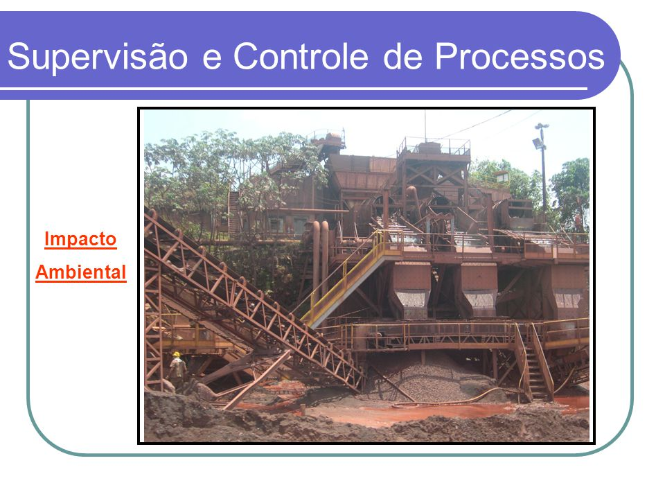 Coluna de CCM - Supervisão e Controle de Processos