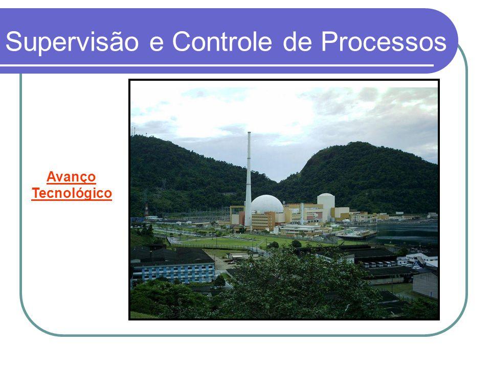 Supervisão e Controle de Processos Espessador: Retira excesso de H 2 O deixando polpa densa.