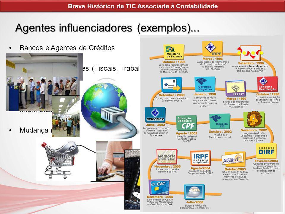 O Impacto das NTCIs na Profissão Contábil A Tecnologia da Informação deixa de ter um papel meramente operacional passando a ser um recurso estratégico.