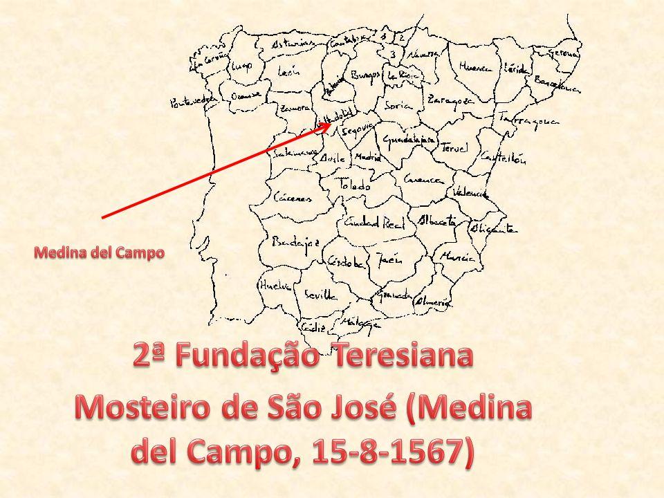 Na véspera de Nossa Senhora de Agosto, chegámos, à meia-noite, a Medina del Campo.