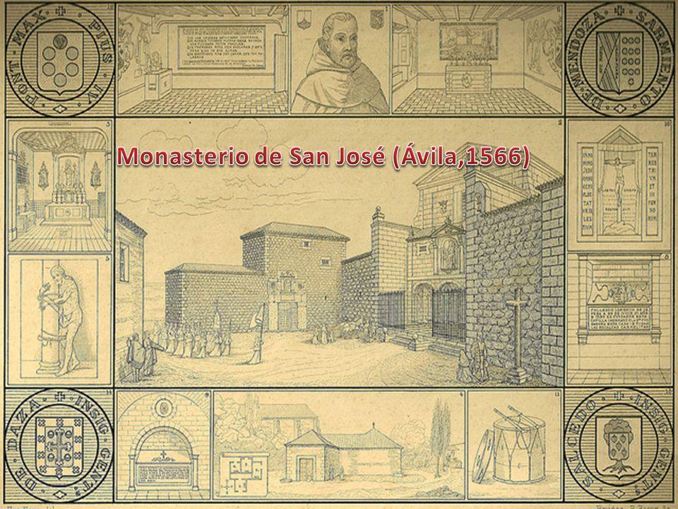 Pouco depois… o encontro com dois posssíveis fundadores, António Herédia e frei João de São Matias, futuro frei João da Cruz.
