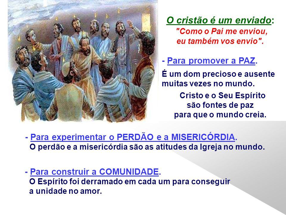 O Pentecostes continua: Diante desse facto grandioso, talvez invejemos a sorte dos apóstolos e esqueçamos que o Pentecostes continua na nossa vida e n