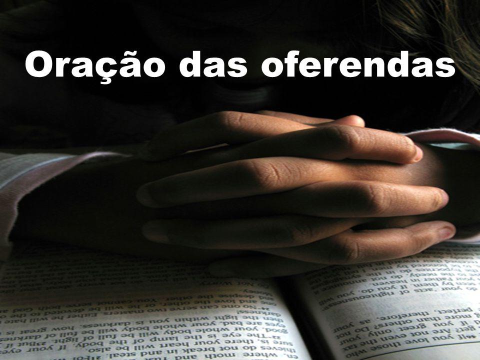 Oração das oferendas
