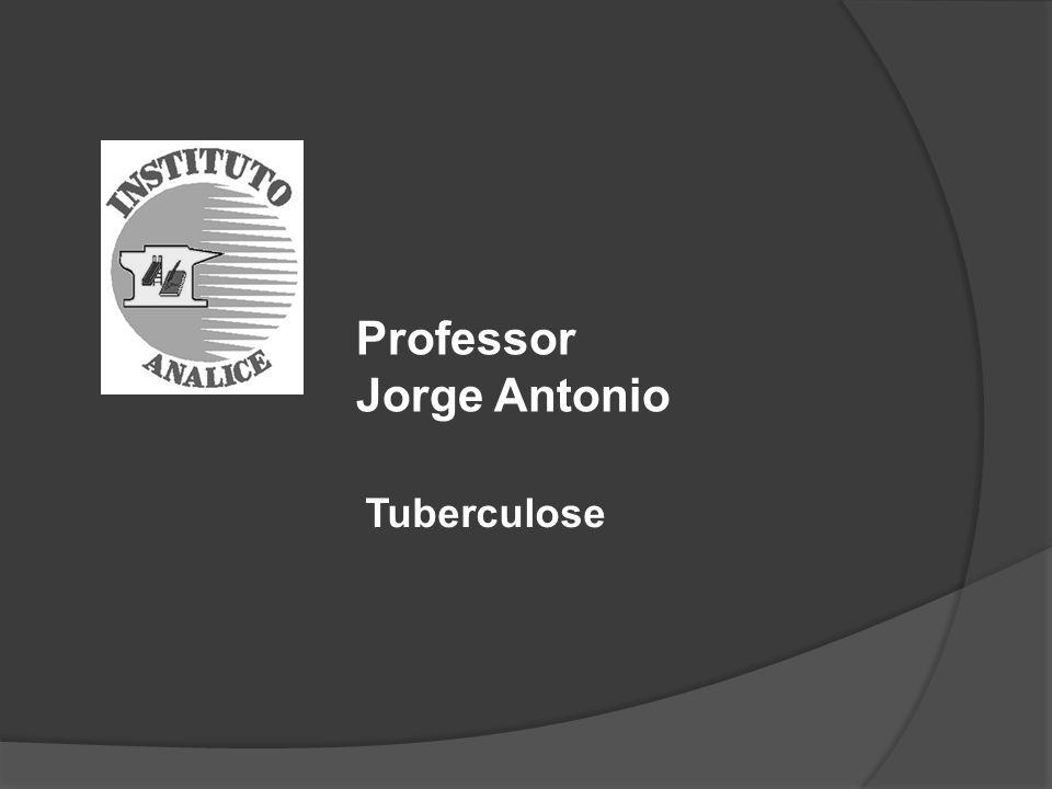 Professor Jorge Antonio Tuberculose