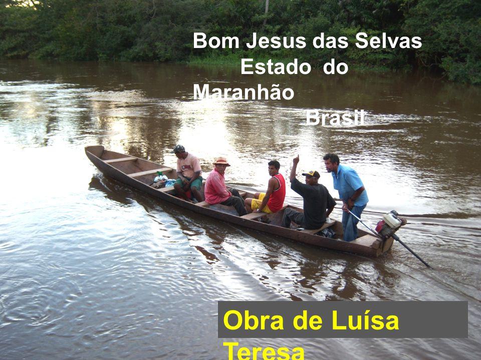 Bom Jesus das Selvas Estado do Maranhão Brasil Obra de Luísa Teresa