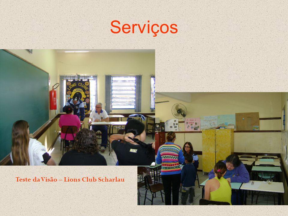 Serviços Teste da Visão – Lions Club Scharlau