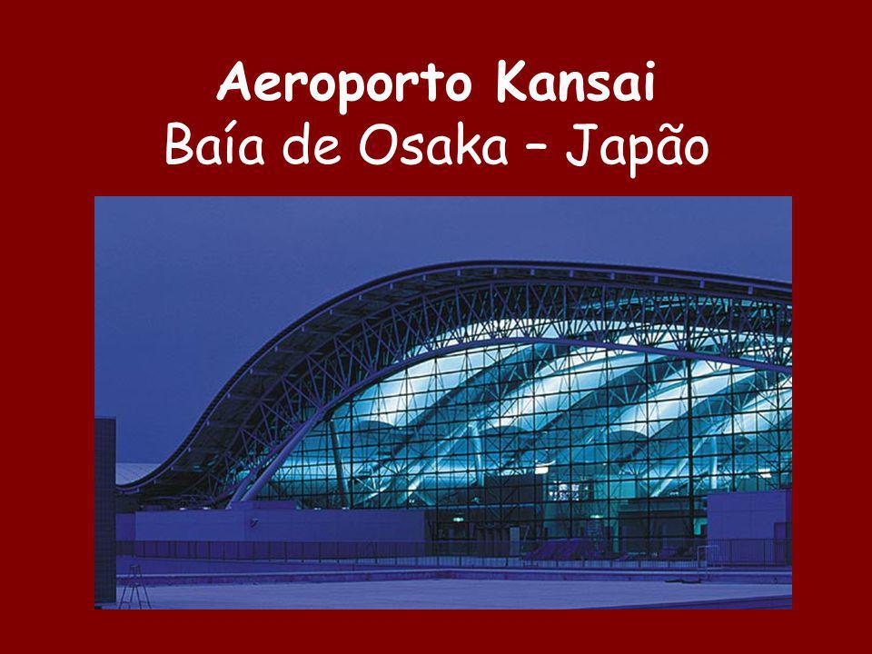 Aeroporto Kansai Baía de Osaka – Japão