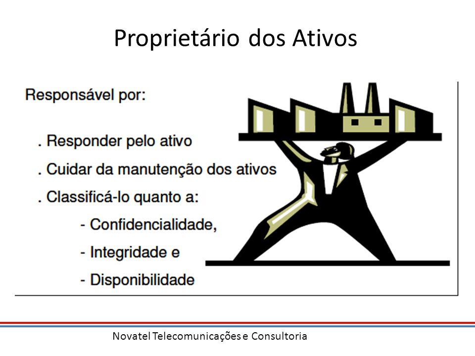 Novatel Telecomunicações e Consultoria Proprietário dos Ativos