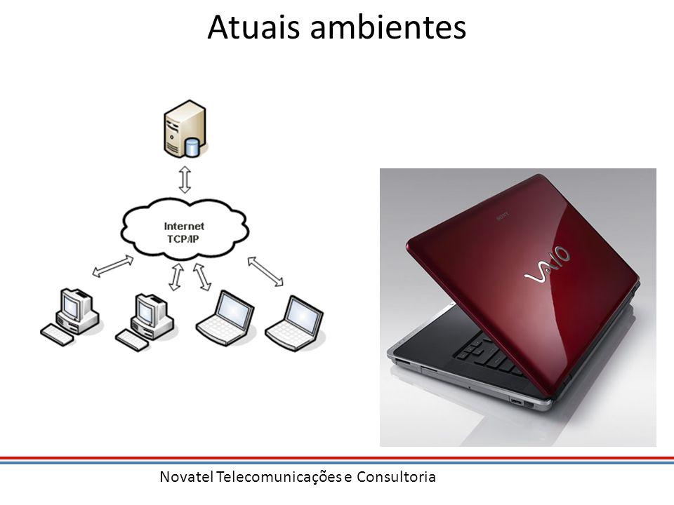 Novatel Telecomunicações e Consultoria Atuais ambientes