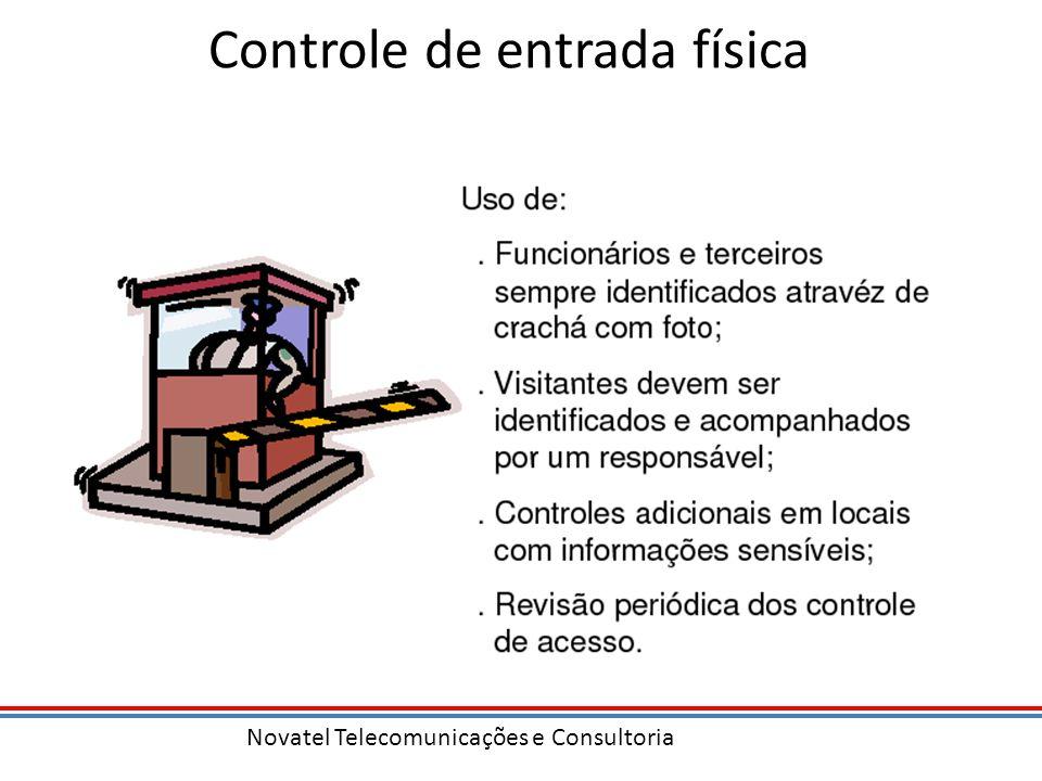 Novatel Telecomunicações e Consultoria Controle de entrada física