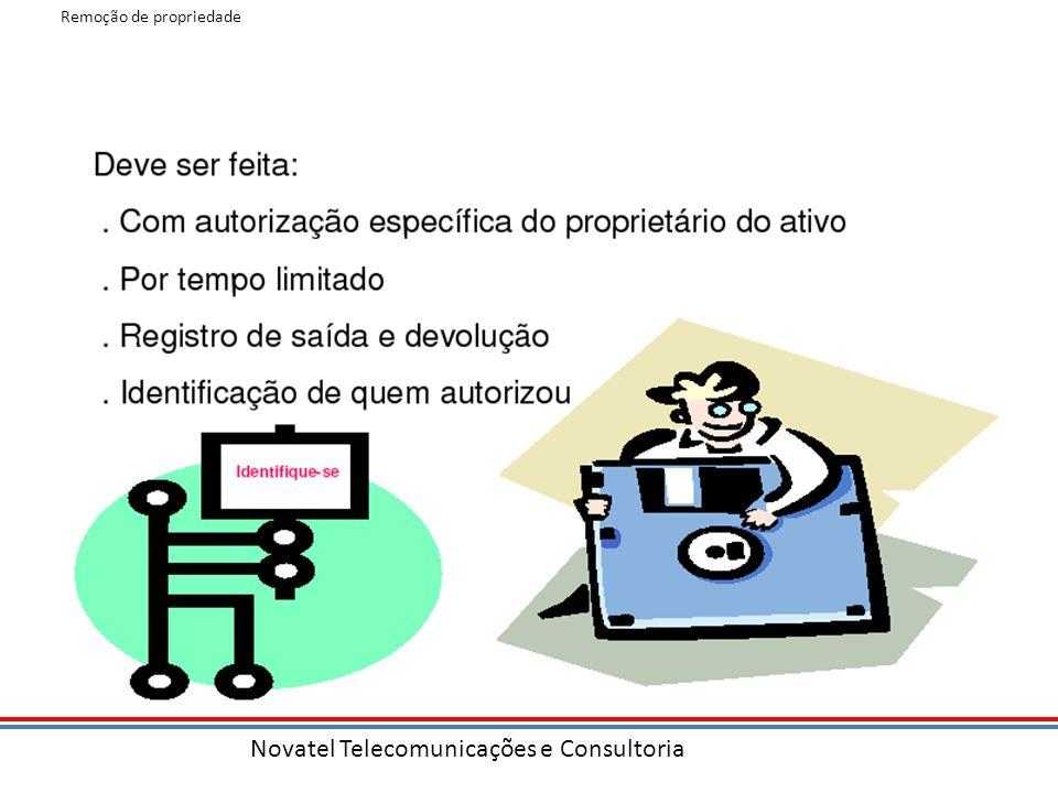 Novatel Telecomunicações e Consultoria Remoção de propriedade