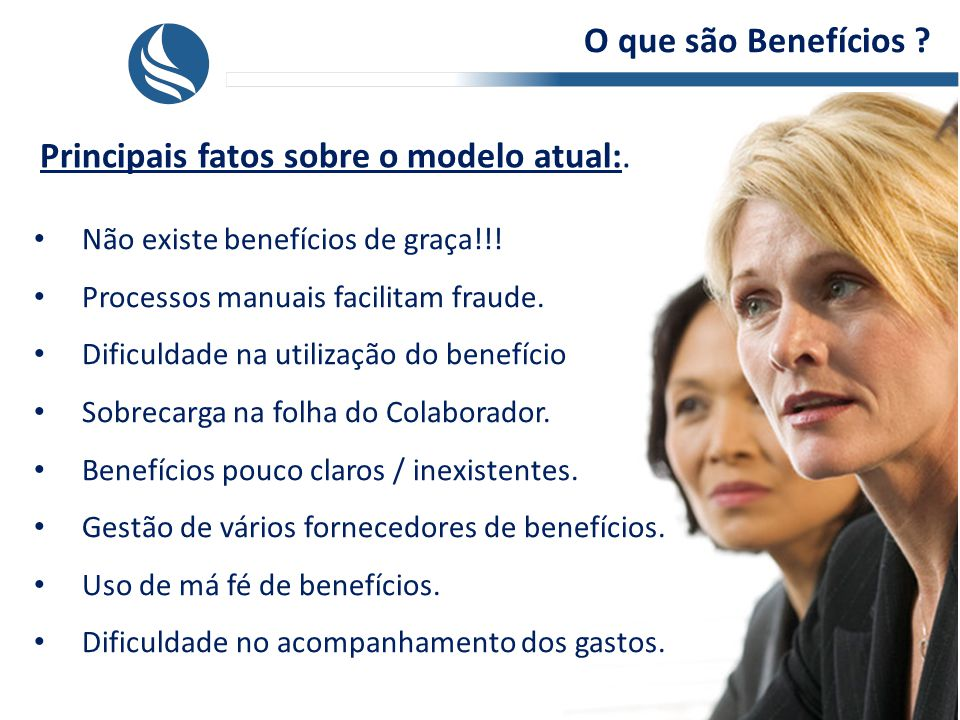 O que são Benefícios .Principais fatos sobre o modelo atual:.