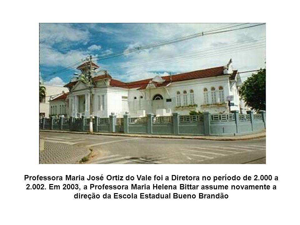 A Professora Josefina D´Ângelo Madeira foi sua Diretora no período de1962 a 1972; A Professora Maria Helena Bittar o dirigiu no período de 1973 a 1999