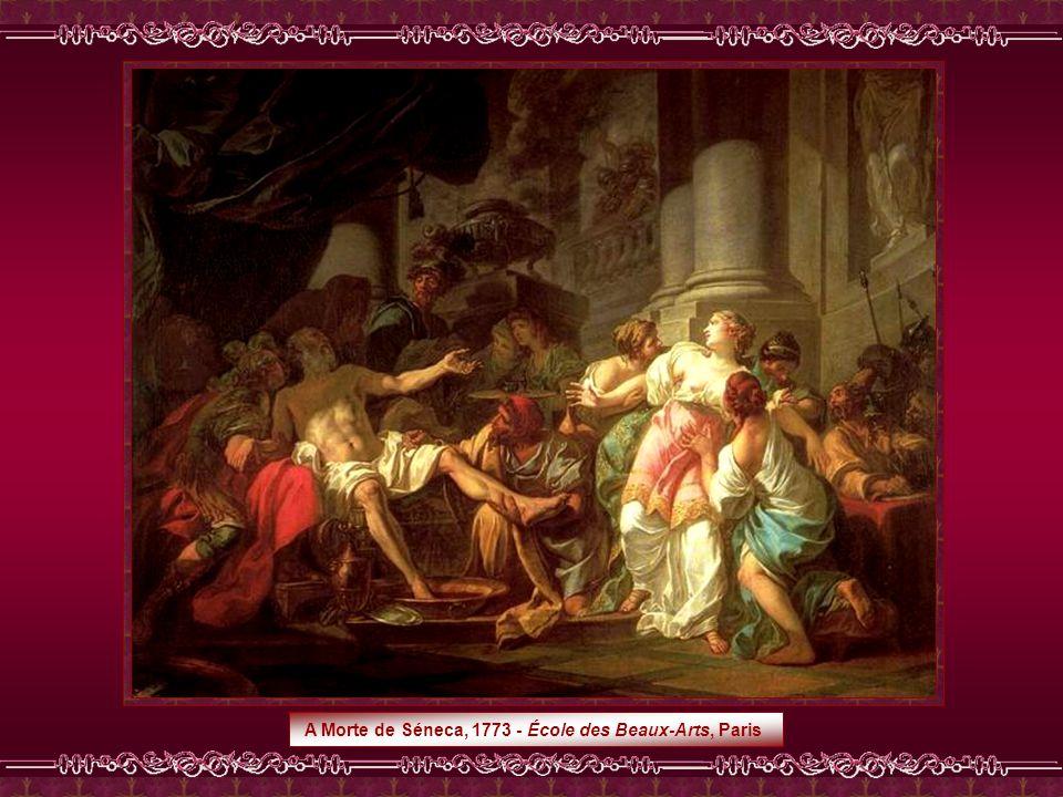 Combate entre Minerva e Marte,1771 - Musée du Louvre, Paris