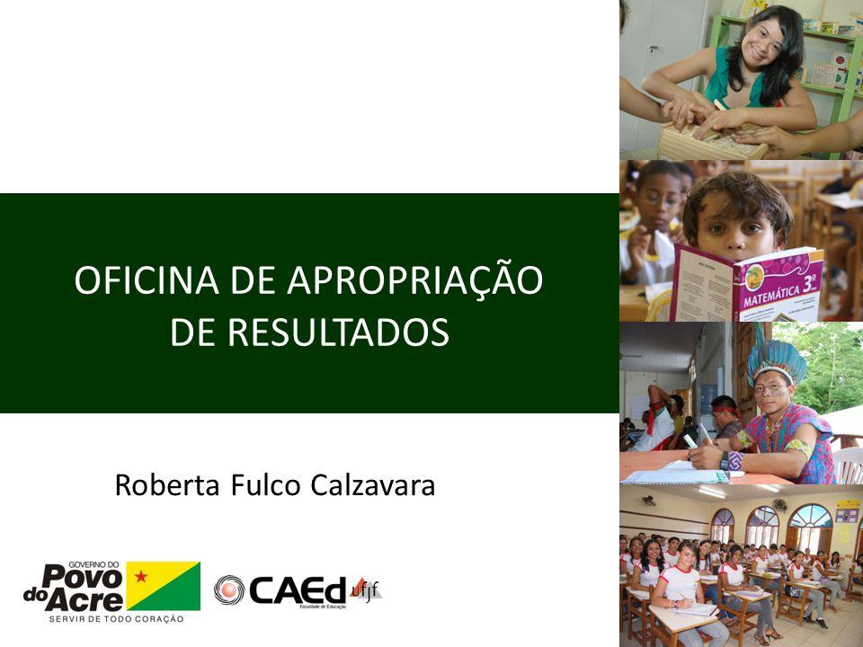 OFICINA DE APROPRIAÇÃO DE RESULTADOS Roberta Fulco Calzavara