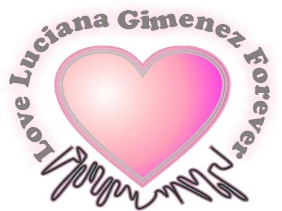 Fã Clube Oficial Love Luciana Gimenez Forever Janeiro/2009 FÃ DO MÊS DE JANEIRO NOME COMPLETO: Denise Bozolla Fermino IDADE: 15 anos CIDADE: Bragança Paulista – SP ESTADO: São Paulo