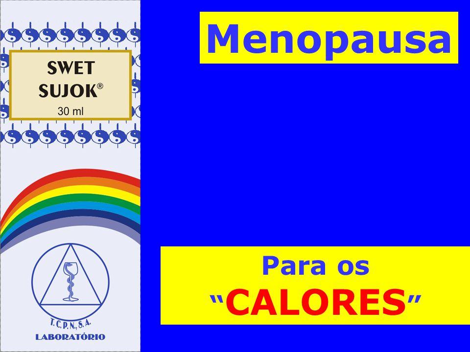 Para os CALORES Menopausa