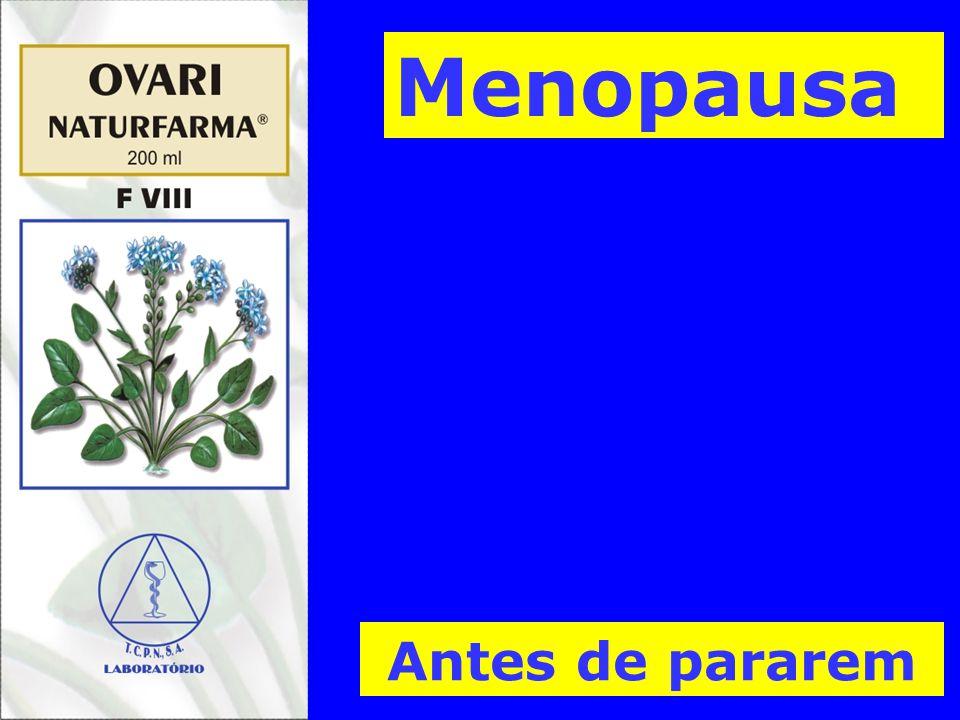 Antes de pararem Menopausa