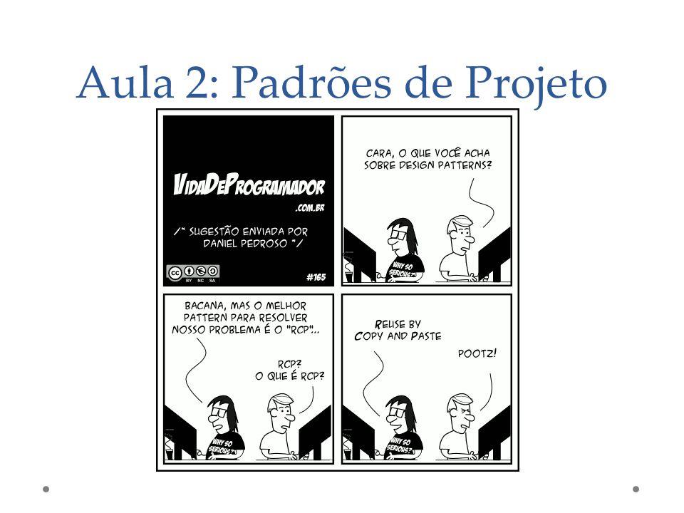 Aula 2: Padrões de Projeto