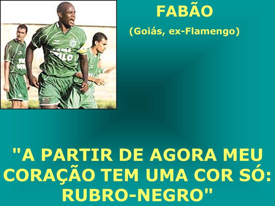 ZANATA (ex-Bahia e Fluminense) NA BAHIA É TODO MUNDO MUITO SIMPÁTICO. É UM POVO MUITO HOSPITALAR