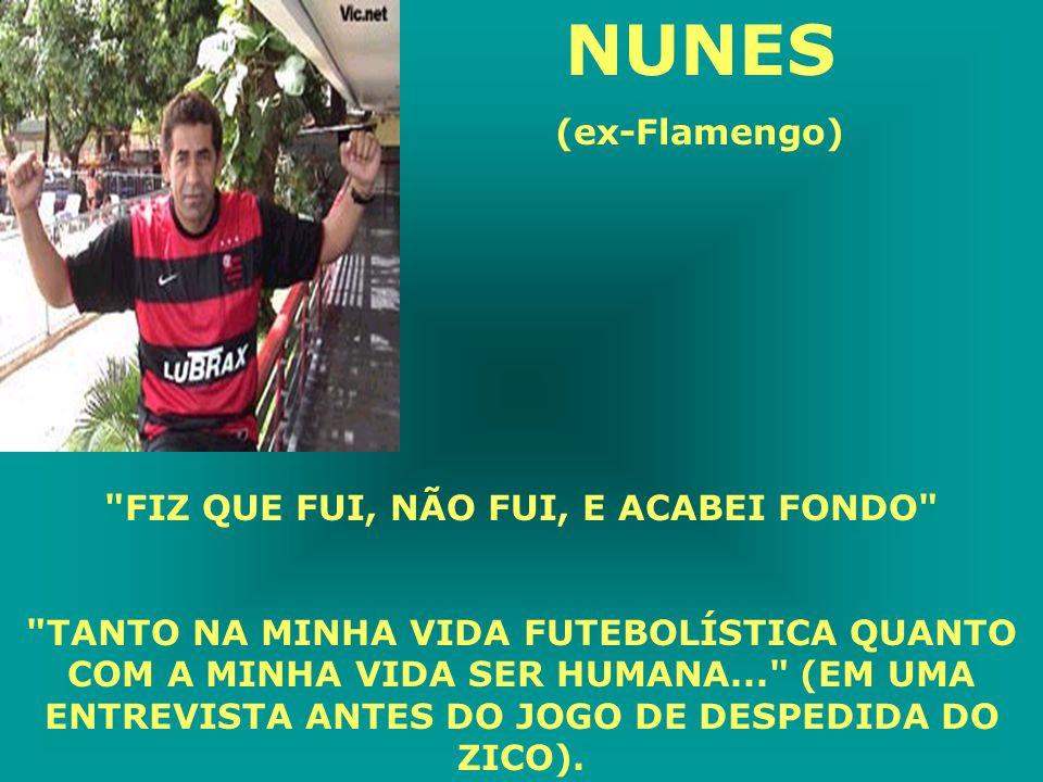 FÁBIO BAIANO (Flamengo) Estavam na concentração do Flamengo Jamir e Fábio Baiano, quando o segundo lendo a revista CARAS, falou: -Porra Jamir, este cara é muito rico mesmo, olhe a casa dele.