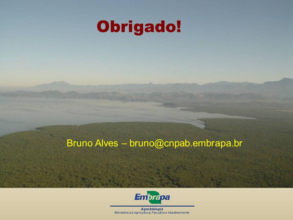 Obrigado! Bruno Alves – bruno@cnpab.embrapa.br
