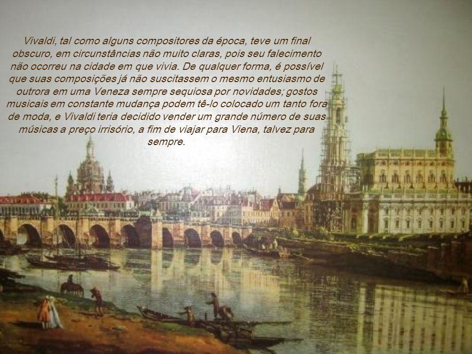 Apesar de ser padre, aparentemente teve vários casos amorosos, um dos quais com a cantora Anna Giraus. Suspeita-se que Vivaldi mantinha uma ambígua at