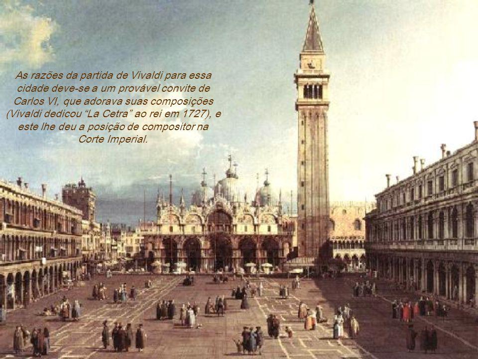Vivaldi, tal como alguns compositores da época, teve um final obscuro, em circunstâncias não muito claras, pois seu falecimento não ocorreu na cidade