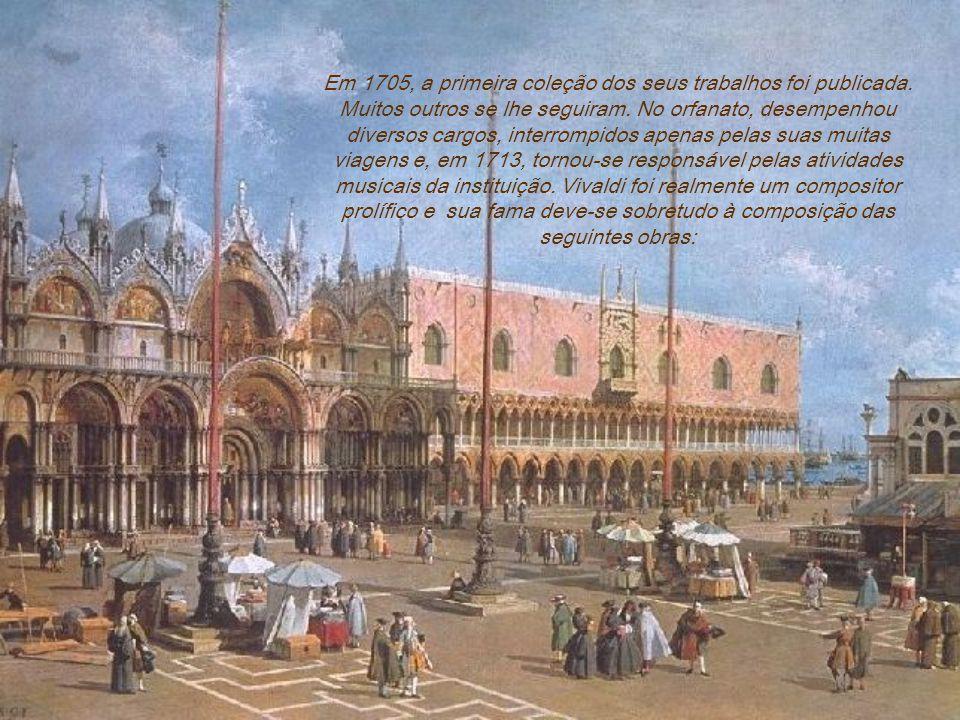 Voltou-se então para o ensino de violino num orfanato de moças, chamado Ospedale della Pietá em Veneza. Pouco tempo após sua iniciação nestas funções,