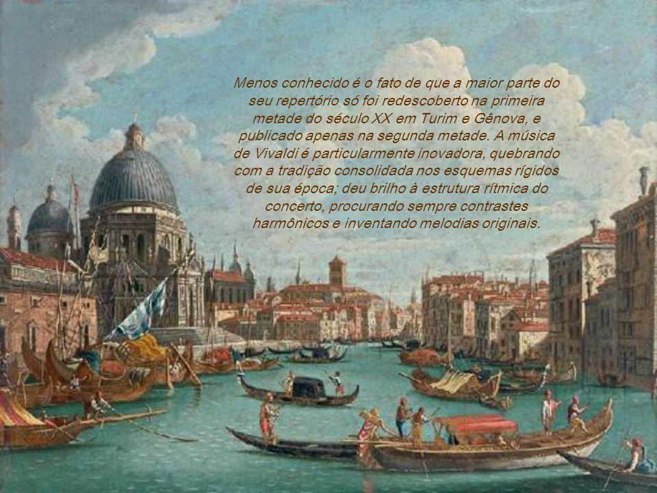 Mais de 500 concertos (210 para violino ou violoncelo solo), dos quais se destaca o seu mais conhecido e divulgado trabalho, As Quatro Estações. Compô