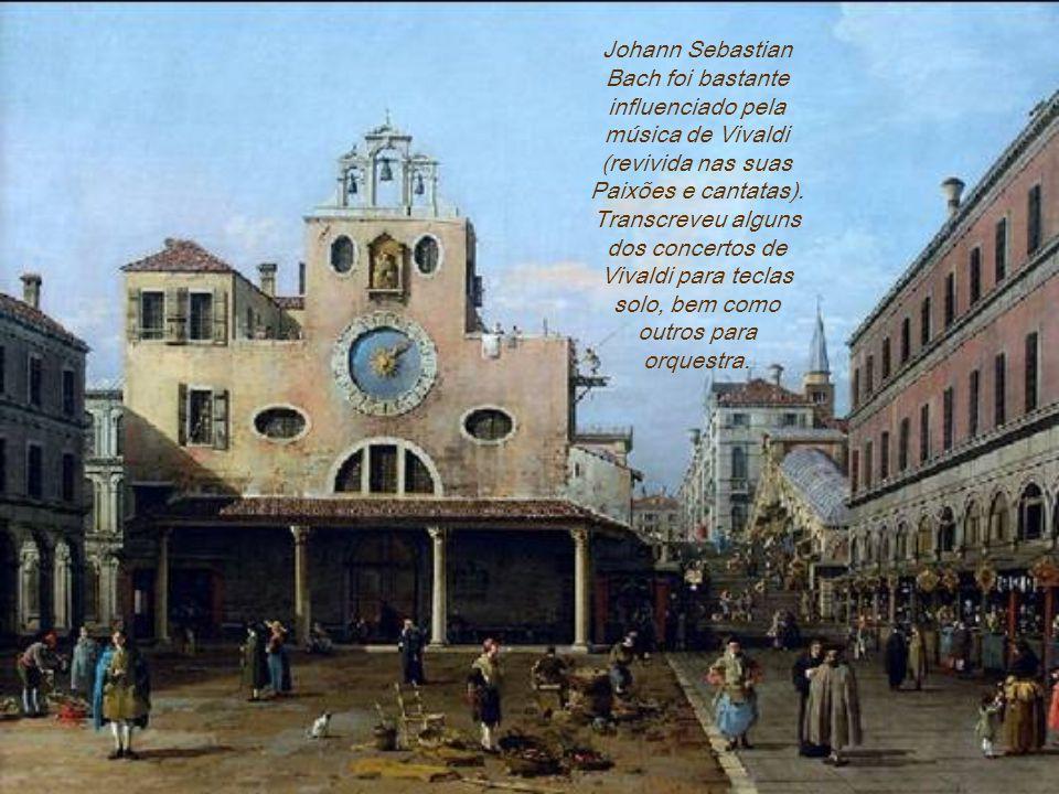 Ademais, Vivaldi era francamente capaz de compor música não acadêmica, apreciada pelo público geral, e não só por uma pequena elite. A alegre aparênci