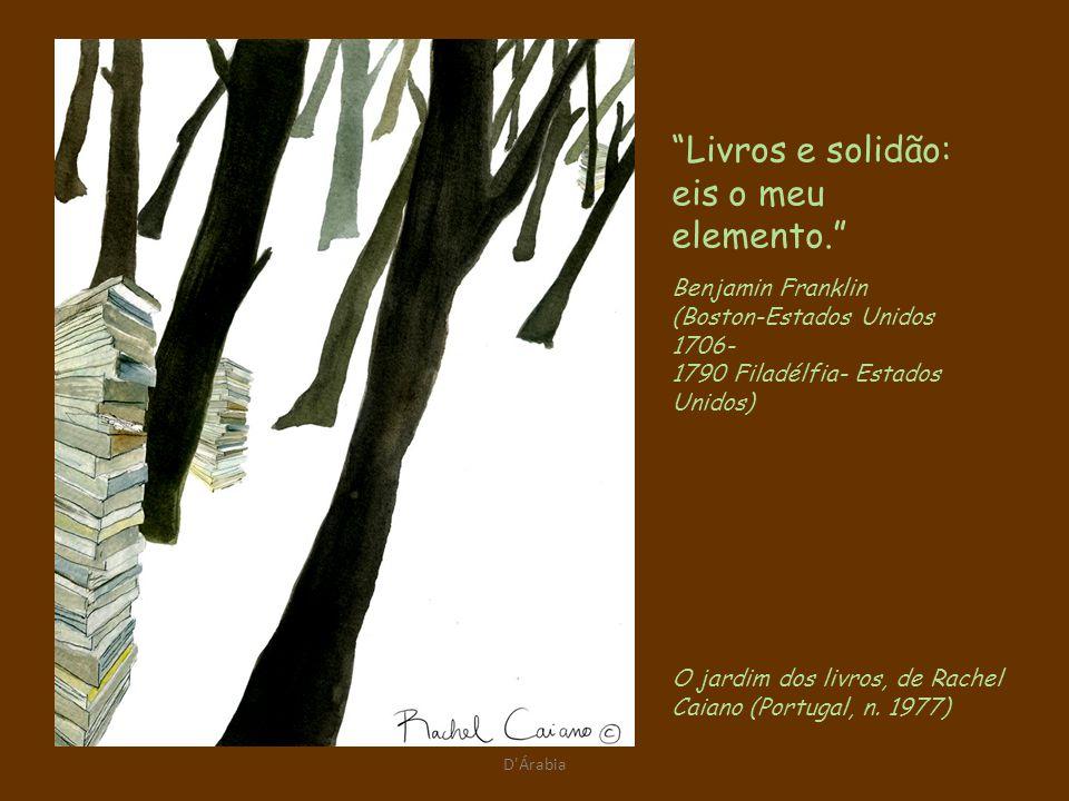 D Árabia O jardim dos livros, de Rachel Caiano (Portugal, n.